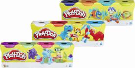 Hasbro B5517EU4 Play-Doh 4er-Pack Knete, ab 2 Jahren